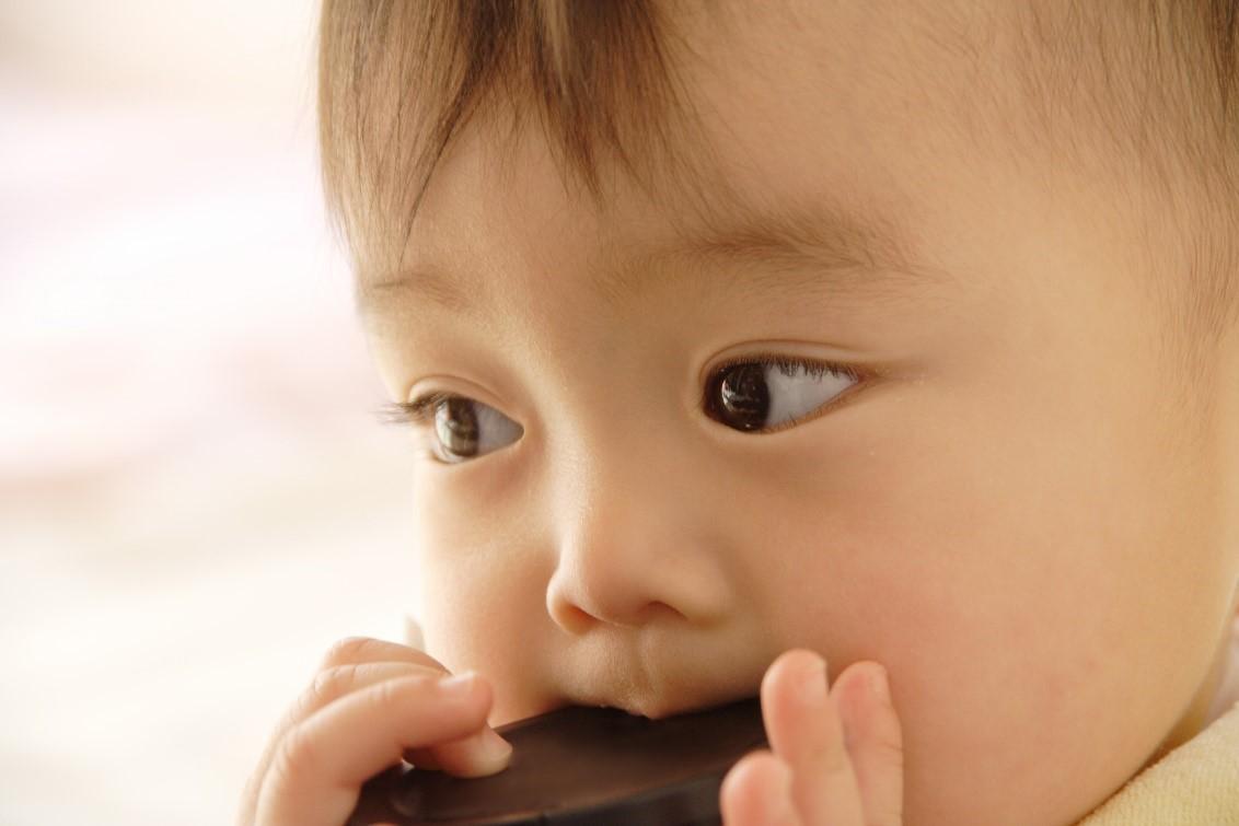 赤ちゃんの食事の量