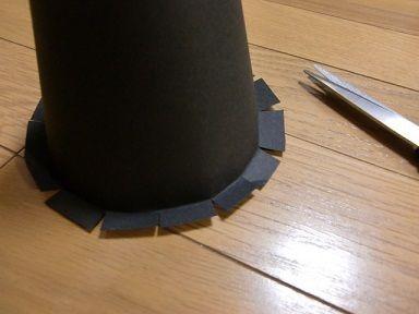 魔女の帽子作り方
