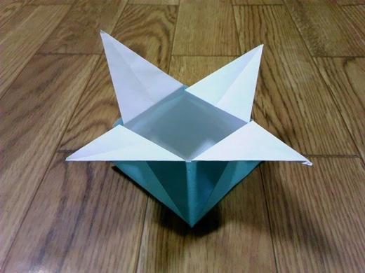 ハート 折り紙:折り紙箱六角形折り方-mr-ikumen.com