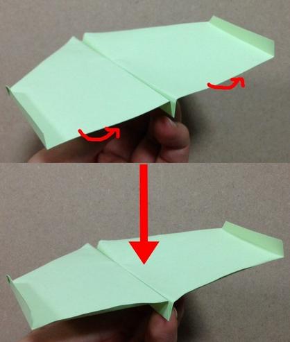 ハート 折り紙 紙飛行機 ギネス 折り方 : mr-ikumen.com
